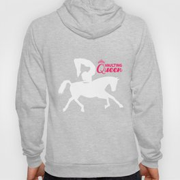 Vaulting Queen Horse Riding Sport Equestrian Gift Hoody