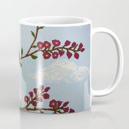 Robin on Plumb Tree Coffee Mug