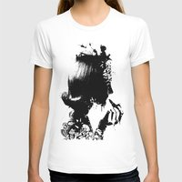 soldier T-shirts featuring WOMAN SOLDIER by kravic