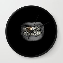 Mithril Grill Wall Clock
