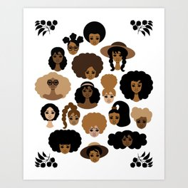 All My Sisters Art Print