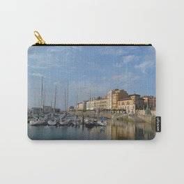 The marina at Gijon, Spain Carry-All Pouch