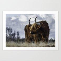 Highlander 3 Art Print