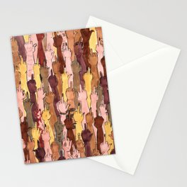 angry people Stationery Cards