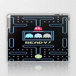 pac-man ready game Laptop & iPad Skin