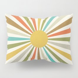 Sun Retro Art IV Pillow Sham