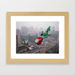 Chengdu Skies Framed Art Print