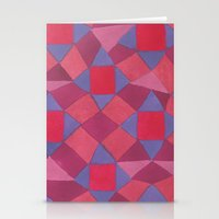 quilt Stationery Cards featuring Quilt by leah reena goren