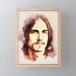 James Taylor, Music Legend Framed Mini Art Print