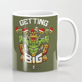Getting Big Green Bowser Coffee Mug