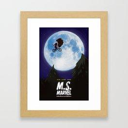 Lockjaw Phone Home Framed Art Print