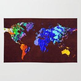 World Map 34 Rug