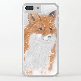 Winterfox Clear iPhone Case