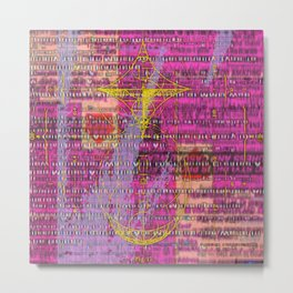 Signal to Noise with Figure 17 Metal Print