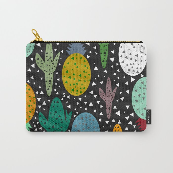 Succulents and pineapples Carry-All Pouch