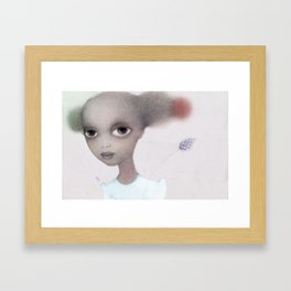 Winter sci fi Framed Art Print
