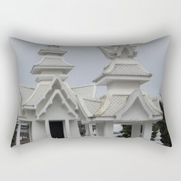 The White Temple - Thailand - 014 Rectangular Pillow