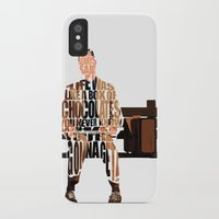 forrest gump iPhone & iPod Cases featuring Forrest Gump by A Deniz Akerman