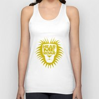 lannister Tank Tops featuring House Lannister - Hear Me Roar by Jack Howse