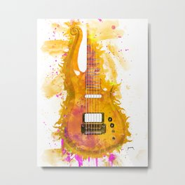 Prince's electric guitar Metal Print
