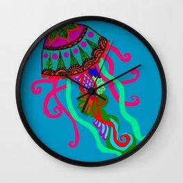 The Unusual Jellyfish Wall Clock