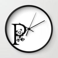 letter Wall Clocks featuring Letter  by Svenningsenmoller Design