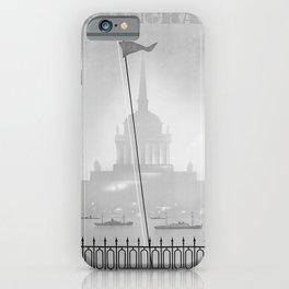 Werbeplakat Leningrad iPhone Case