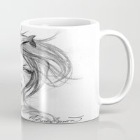 orca Mugs featuring Orca by Mortimer Sparrow