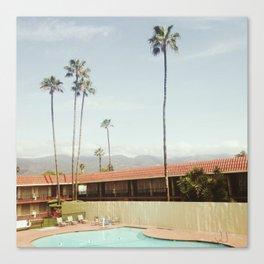 Los Holiday Inn Canvas Print
