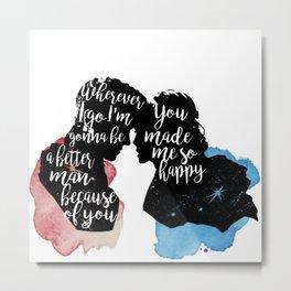 karamel - you made me happy Metal Print
