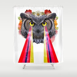 the owltimate Shower Curtain