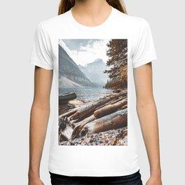 Moraine Lake at banff T-shirt