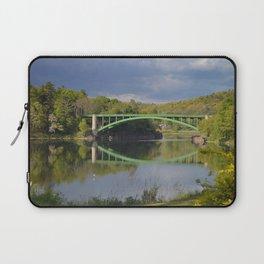 Summer Storm Clouds - Delaware River Laptop Sleeve