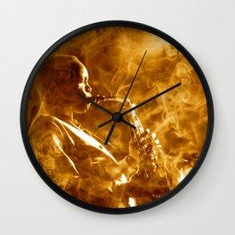 Jazz Night Wall Clock