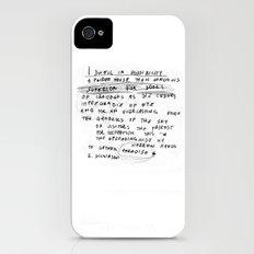 EMILY iPhone (4, 4s) Slim Case
