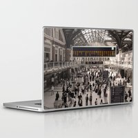 liverpool Laptop & iPad Skins featuring Liverpool St. by theGalary