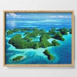 Palau Island Paradise Serving Tray