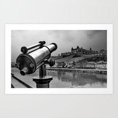 Castle Wuerzburg Art Print