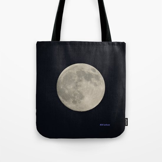 Another August Moon Tote Bag