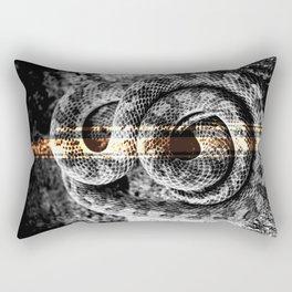 Gilded Serpent — Icons & Relics. Rectangular Pillow