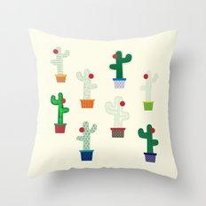 The Cactus! Throw Pillow