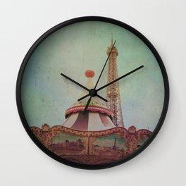 Bohemia of Paris Wall Clock