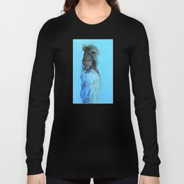 His Cold Stare Long Sleeve T-shirt