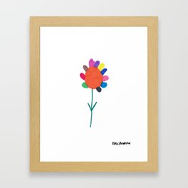 Flower 4 Framed Art Print