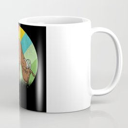 Retro Goat Eating Grass Farmer Gift Coffee Mug