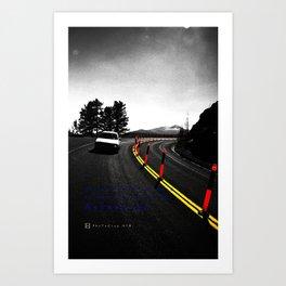 The focus Art Print
