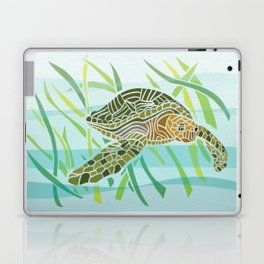 Sea Turtle at Home Laptop & iPad Skin
