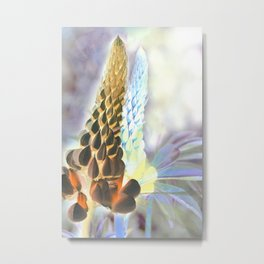 Double lupine Metal Print