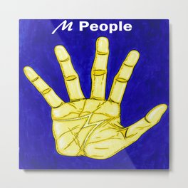 M People Metal Print