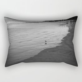 Alone in the world Rectangular Pillow